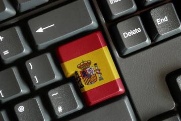 Spanish flag key on keyboard