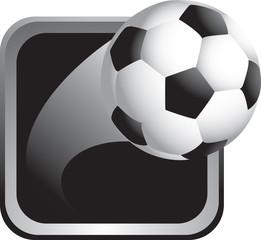 Soccer ball thrown