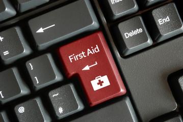"""""""First Aid"""" key on keyboard"""