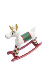 Miniature Wooden Rocking Horse