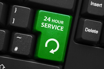 """24 Hour Service"" key on keyboard"