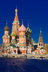 Wall Mural - Saint Basil Cathedral on Red Square