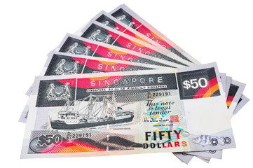 Singapore Fifty Dollars