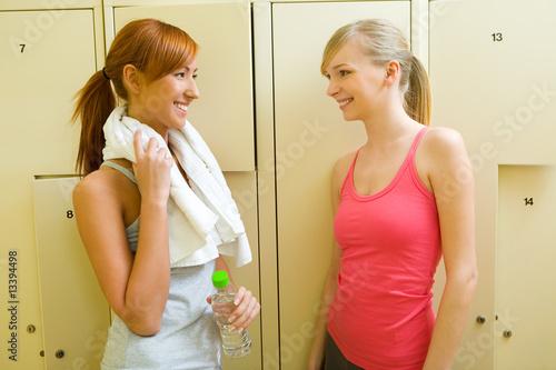Girls Changing Locker Room