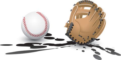 Splat Baseball and glove