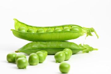 isolated peas