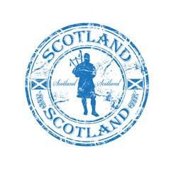 Scotland rubber stamp