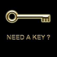 Need a key