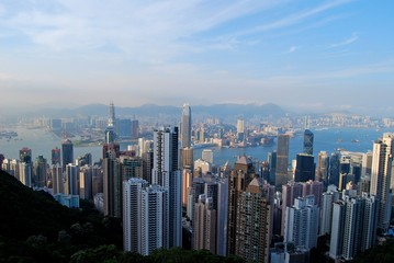 View from Victoria Peak over Hong Kong