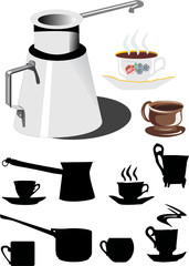 coffe crockery