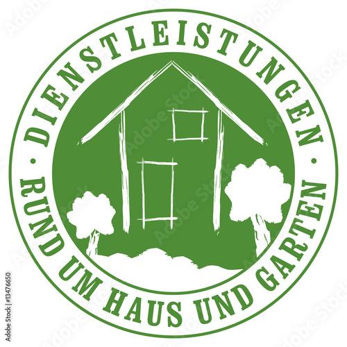 Dienstleistungen Rund Um Haus Und Garten Stock Image And