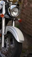 Powerful motorbike