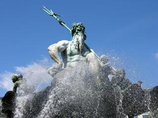 Neptunbrunnen am Alexanderplatz