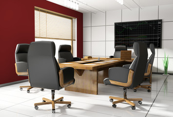 Room of negotiation in office