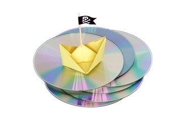 Pirated CD