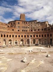 Roma-Scorcio del Foro Traianeo