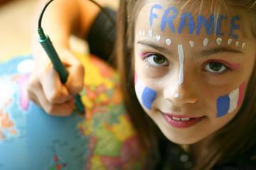 montrer la France sur la planète 2