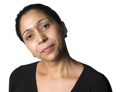 portrait of Latino woman