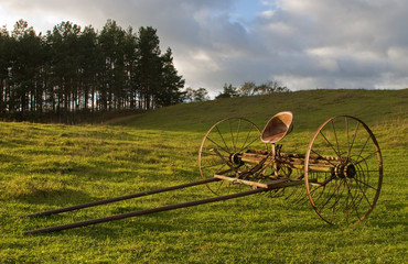 cart on the hill