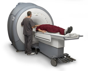 MRI Technician and Patient