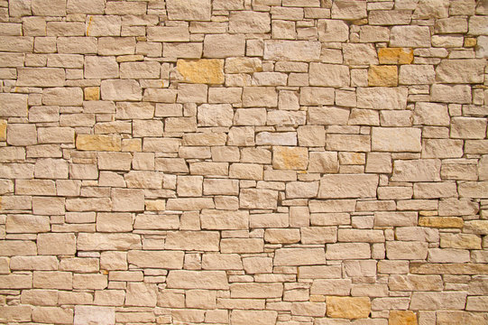 Provencal stone wall background