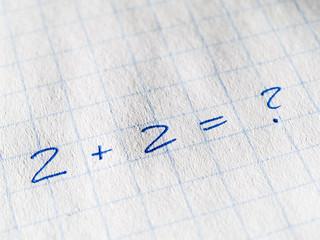 mathematical operation with no result