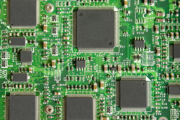 Computer chip, background