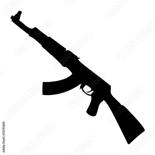 """""""Kalashnikov_AK-47"""" fichier vectoriel libre de droits sur ..."""