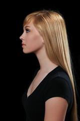 Profile Portrait of Teenager