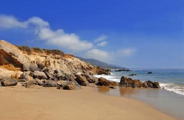 Rocky Beach in Malibu California