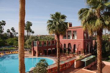 piscine à Marrakech