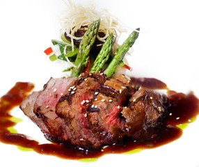 Wall Murals Ready meals Gourmet fillet mignon steak - with added contrast