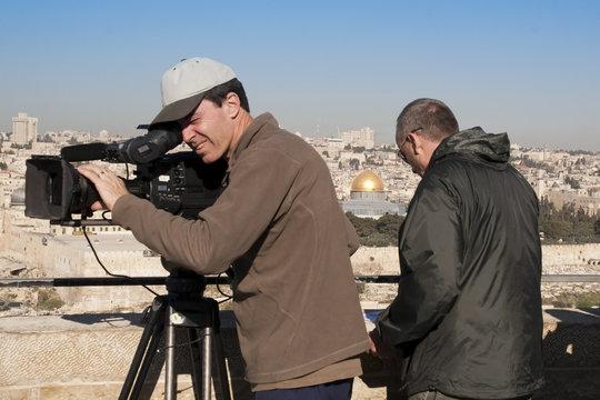 cameramen in Israel