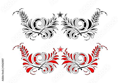 tribal ornamente muster stockfotos und lizenzfreie vektoren auf bild 13620817. Black Bedroom Furniture Sets. Home Design Ideas