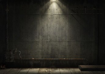 Fotobehang Industrial geb. grunge industrial background