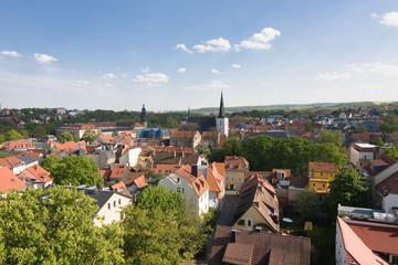 Blick über Weimar