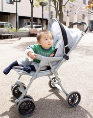 baby in a pushchair06