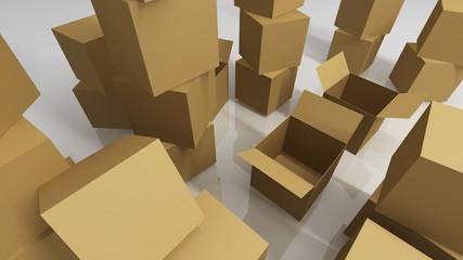 Kisten leer