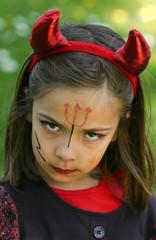 petit diable fâché