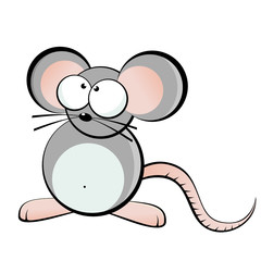 maus ratte cartoon lustig