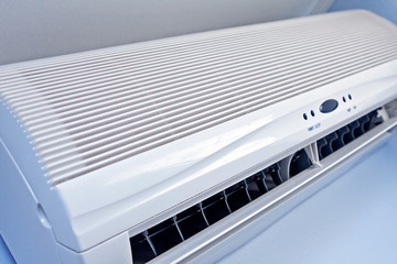 Air conditioner, close-up