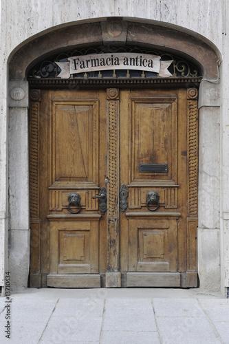 Haustüren holz antik  Holztür Haustür Holz Tür Eingang antik alt