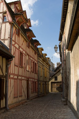 Maisons à colombages - Troyes (Aube)