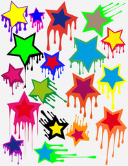 Blot stars