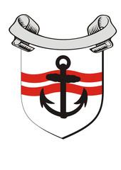 Adel verpflichtet -Schifffahrtswappen