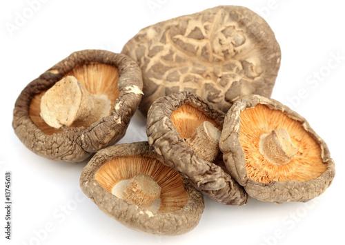 """""""champignons chinois tonkou séchés"""" photo libre de droits ..."""