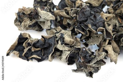 champignon noir chinois oreille de chat photo libre de droits sur la banque d 39 images. Black Bedroom Furniture Sets. Home Design Ideas