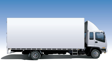 Canvas Sided Truck