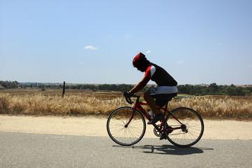 Cyclist on Horizon