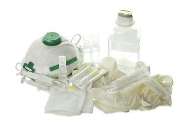 Syringe,Surgical Needle,Mask